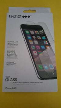 tech21 evo glass iPhone tempered glass Plainville, 06062