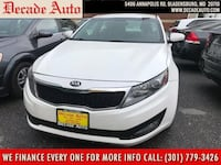 2013 Kia Optima white bladensburg, 20710