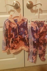 4T Girl's Adidas Suit  Glenn Heights, 75154