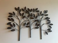 Brown floral wall decor Lancaster