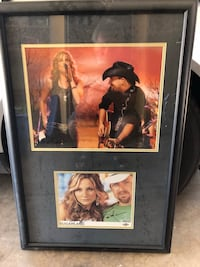 Sugarland signed framed photo  Tempe, 85283