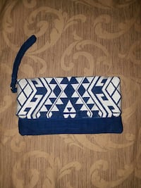 blue and white wristlet limited edition