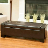 black and brown wooden bed frame Los Angeles, 91304