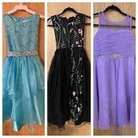 BRAND NEW DRESSES. Size 14 girls  Calmar, T0C 0V0