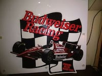 black Budweiser Racing decor Oconto, 54153