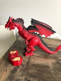 Remote Control Legendary red dragon