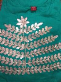 green and white floral textile Pune, 411051