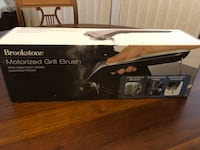 New in Box Brookstone Motorized Grill Brush with Steam Markham, L3T 3L5