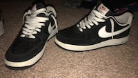 suede b&w air force 1s.. size 10.5 Temple, 76502