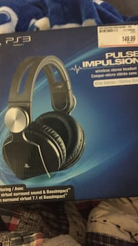 Brand new elite edition don't ps4-ps3 wireless stereo headset  Kitchener, N2A 2K5