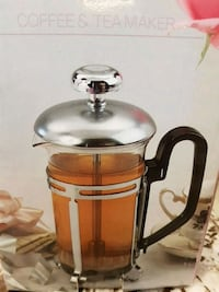 French Press Coffee and Teamaker