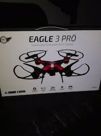 black and red quadcopter drone box Tulsa