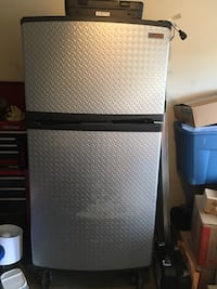 Needs new Capacitor part is $45- dual fridge/freezer Englewood, 80112