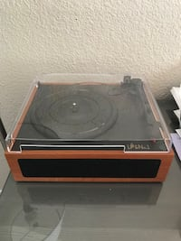 Small record player