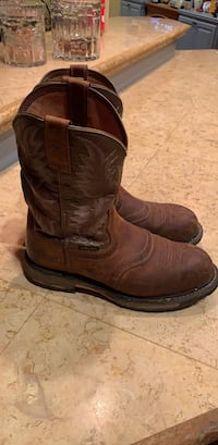 Ariat boots size 10 composite toe Wesson, 39191