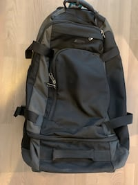 Black MEC Large Wheeled Duffle with Backpack Straps Toronto, M4W 3G7