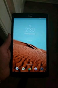 black Samsung Galaxy Android tablet