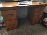 Solid Wooden Desk null