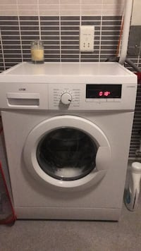white Arcelik front-load washer 伯明翰, B17 0DA