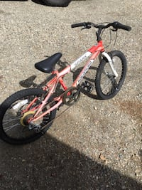 gray and red BMX bike Coldstream, V1B 2X7