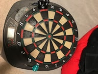 black, red, and green dartboard Edmonton, T6G 0E5