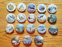 PHEASANT FOREVER PINBACK BUTTONS  Eaton