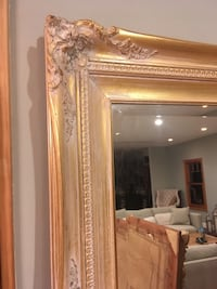 brown wooden framed wall mirror Los Angeles, 91604