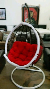 baby's white and red bassinet Sacramento