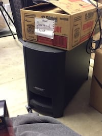Bose home theatre cinimate series 2 edition used only a few times comes with instructions Prince George, V2M 3K9
