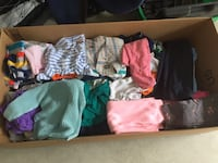 Baby/toddler girls and boys clothing. Sizes range from 6 months to 3 years old. All clothing is in good shape and in fair condition lots only worn once or twice. Asking 75.00 for the whole lot but can sell items separately. Pick up is in Surrey.  Surrey, V4N 0J2