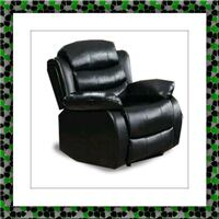Black recliner chair free delivery Alexandria, 22305