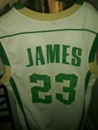 green and white Celtics jersey shirt Silver Spring, 20906