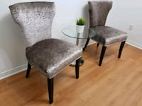 two gray-and-black padded chairs Ajax, L1Z 1J4