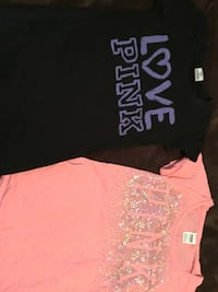New PINK tees. Xs. Both for $20 Gadsden, 35904