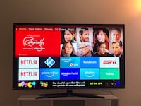 """46"""" Samsung Smart TV in excellent condition Jersey City"""
