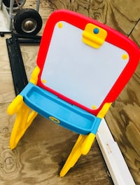 Crayons play and fold activity center . Paid around $50 new and comes with matching seat