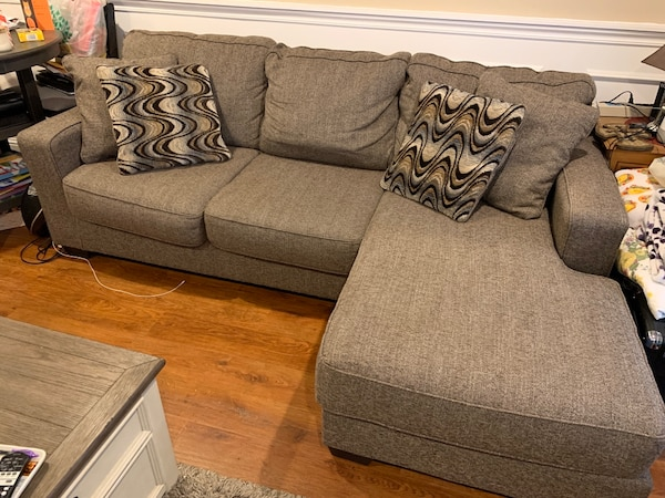 Magnificent Benchcraft Sectional Sofa Squirreltailoven Fun Painted Chair Ideas Images Squirreltailovenorg