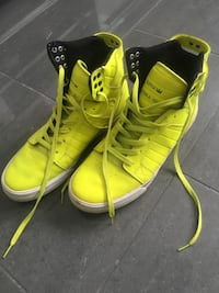 Gul Supra High-top Sneakers Gressvik, 1621