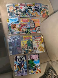 57 Comic books for sale New Westminster, V3M 5M4