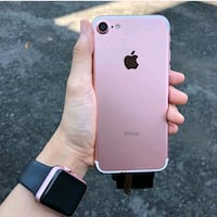 rose gold iPhone 7 with box Maryland