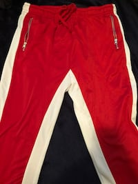 red and white Adidas track pants Salinas, 93906