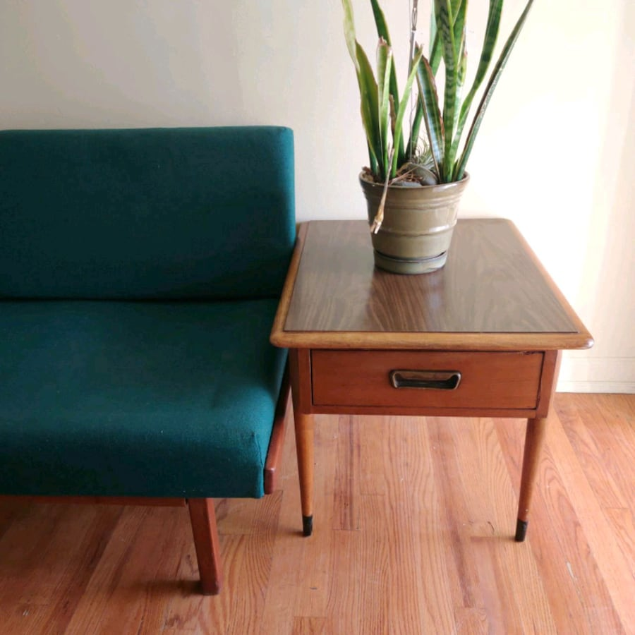 Mid Century end table by Lane vintage mcm