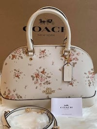 Coach Rose Bouquet Mini Sierra Satchel