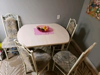 Dining table and 4 chairs  Edmonton, T6H 2C6