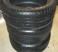 four black auto tire set New Milford