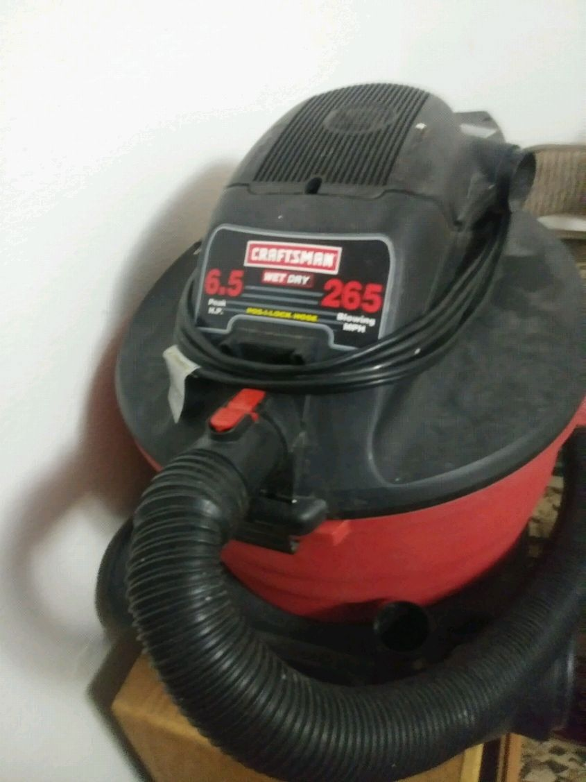Photo Wet and dry vacuum large shop vacuum