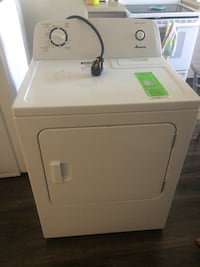 White front-load clothes dryer Montréal, H2E 2P3