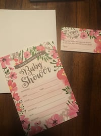 Baby shower invitations Cleveland, 44102