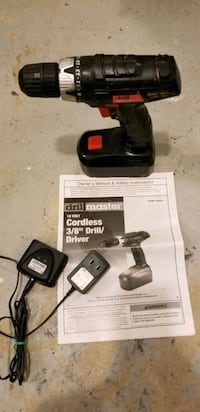 Cordless 18V drill/driver with battery and charger