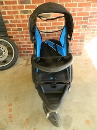 baby's black and blue jogging stroller Lanham, 20706